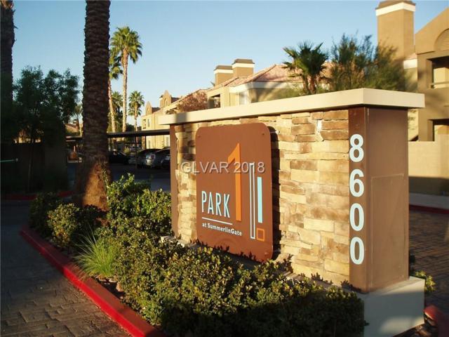 8600 Charleston #1107, Las Vegas, NV 89117 (MLS #2023644) :: The Snyder Group at Keller Williams Realty Las Vegas