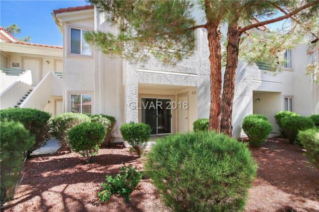 7900 Greycrest #103, Las Vegas, NV 89145 (MLS #2023976) :: Sennes Squier Realty Group