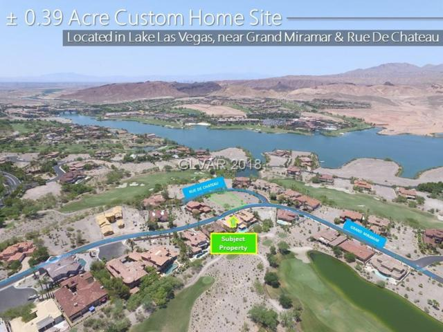23 Grand Miramar, Henderson, NV 89011 (MLS #2024723) :: The Snyder Group at Keller Williams Marketplace One