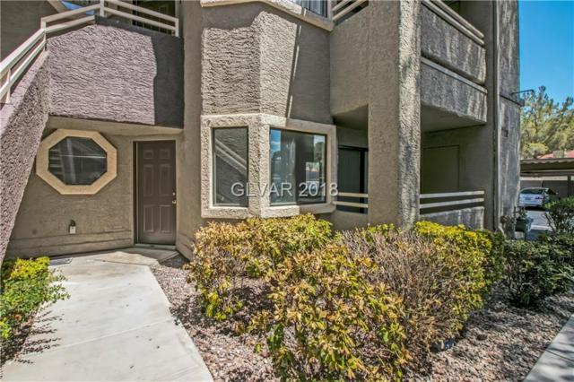5036 S Rainbow #106, Las Vegas, NV 89118 (MLS #2025167) :: Vestuto Realty Group