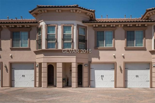 32 Via Vasari #104, Henderson, NV 89011 (MLS #2026357) :: The Snyder Group at Keller Williams Realty Las Vegas