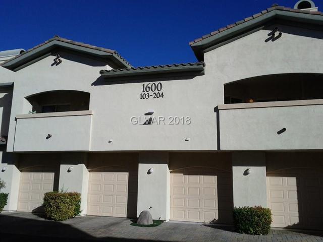 1600 Cardinal Bluff #103, Las Vegas, NV 89128 (MLS #2026442) :: Sennes Squier Realty Group