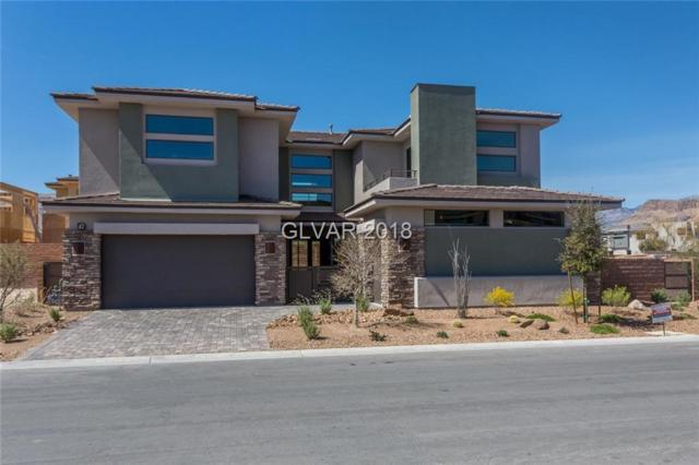 47 Pristine Glen, Las Vegas, NV 89135 (MLS #2026968) :: Trish Nash Team