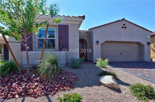 275 Via Della Fortuna, Henderson, NV 89011 (MLS #2027059) :: The Snyder Group at Keller Williams Realty Las Vegas