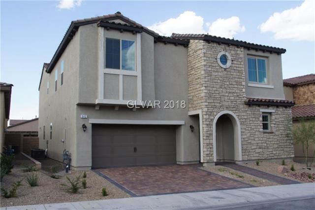 943 Whitworth, Las Vegas, NV 89148 (MLS #2028091) :: The Machat Group | Five Doors Real Estate