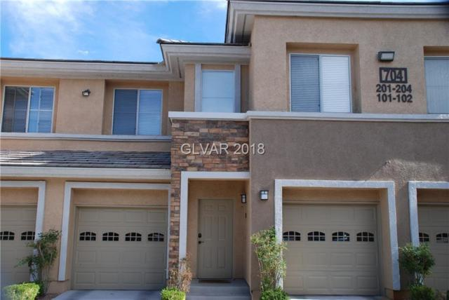 704 Peachy Canyon #203, Las Vegas, NV 89144 (MLS #2029429) :: Sennes Squier Realty Group