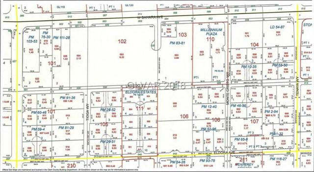Eldora Ave Lot 3, Las Vegas, NV 89117 (MLS #2030061) :: Trish Nash Team