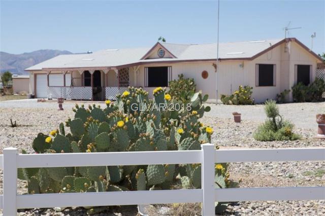 1730 S Windy, Pahrump, NV 89048 (MLS #2031596) :: The Snyder Group at Keller Williams Realty Las Vegas