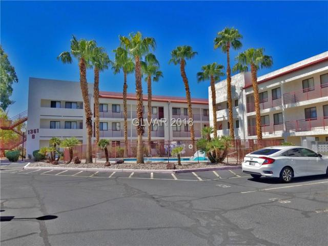 1381 E University #209, Las Vegas, NV 89119 (MLS #2031949) :: The Snyder Group at Keller Williams Marketplace One