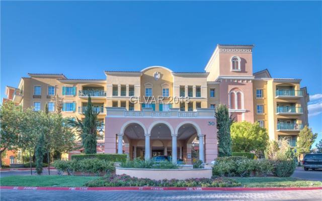 30 Strada Di Villaggio #331, Henderson, NV 89011 (MLS #2032249) :: The Snyder Group at Keller Williams Realty Las Vegas
