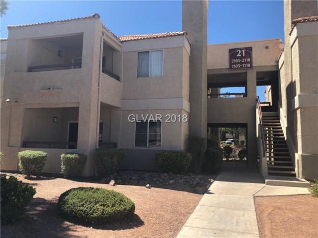 8600 Charleston #1109, Las Vegas, NV 89107 (MLS #2033557) :: Sennes Squier Realty Group