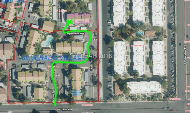 3924 Aquamarine #82, Las Vegas, NV 89103 (MLS #2034080) :: Signature Real Estate Group