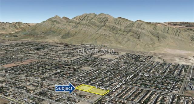 ±4.75 Acres On Charleston, Las Vegas, NV 89110 (MLS #2034202) :: Trish Nash Team
