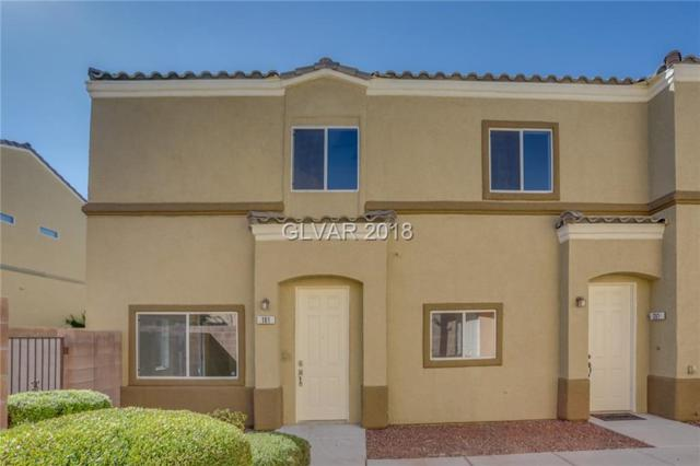 6316 Blowing Sky #101, North Las Vegas, NV 89081 (MLS #2034385) :: The Snyder Group at Keller Williams Realty Las Vegas