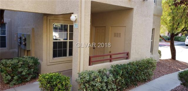 520 Arrowhead #213, Henderson, NV 89015 (MLS #2034680) :: The Snyder Group at Keller Williams Realty Las Vegas