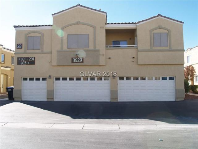 3929 Pepper Thorn #102, North Las Vegas, NV 89081 (MLS #2035035) :: The Snyder Group at Keller Williams Realty Las Vegas