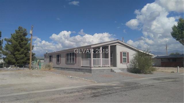 110 W Old Mine, Pahrump, NV 89048 (MLS #2035078) :: The Snyder Group at Keller Williams Realty Las Vegas