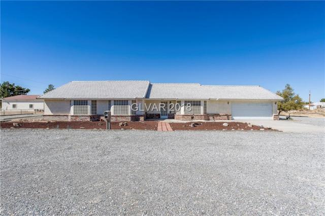 3820 S Twilight, Pahrump, NV 89048 (MLS #2035495) :: The Snyder Group at Keller Williams Realty Las Vegas