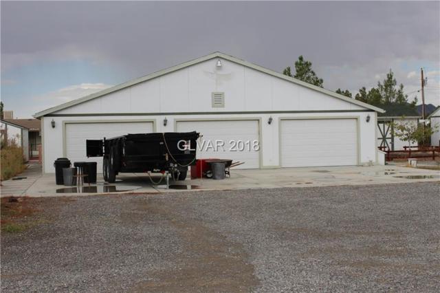 1340 W Horn, Pahrump, NV 89048 (MLS #2035570) :: The Snyder Group at Keller Williams Realty Las Vegas