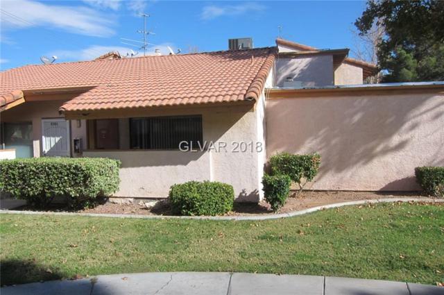 1515 Reno C108, Las Vegas, NV 89119 (MLS #2035811) :: The Snyder Group at Keller Williams Realty Las Vegas