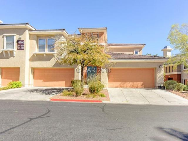 10700 Amber Ridge #104, Las Vegas, NV 89144 (MLS #2035863) :: Vestuto Realty Group