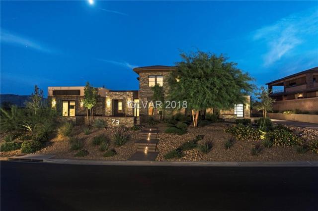 73 Hawk Ridge, Las Vegas, NV 89135 (MLS #2035886) :: The Snyder Group at Keller Williams Marketplace One