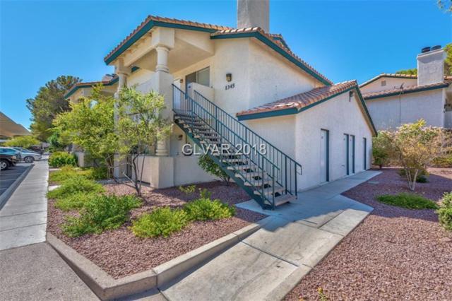 1345 Cinder Rock #201, Las Vegas, NV 89128 (MLS #2036149) :: Vestuto Realty Group