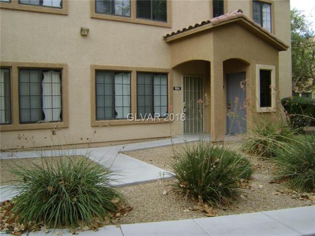 2020 Rancho Lake #104, Las Vegas, NV 89108 (MLS #2037077) :: Vestuto Realty Group