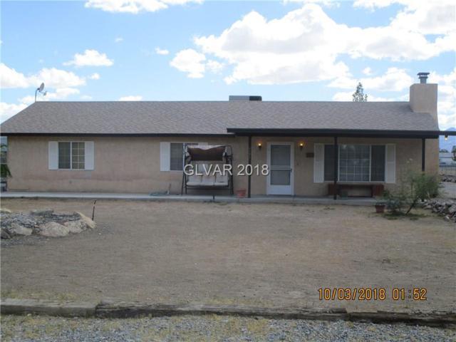 1171 W Donner, Pahrump, NV 89048 (MLS #2037324) :: The Snyder Group at Keller Williams Realty Las Vegas