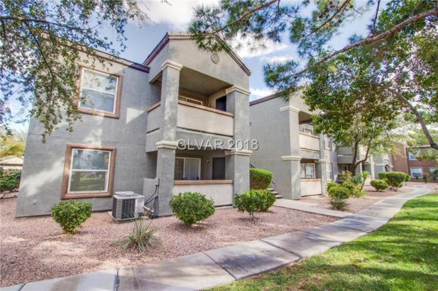 555 Silverado Ranch #1121, Las Vegas, NV 89183 (MLS #2037751) :: Sennes Squier Realty Group