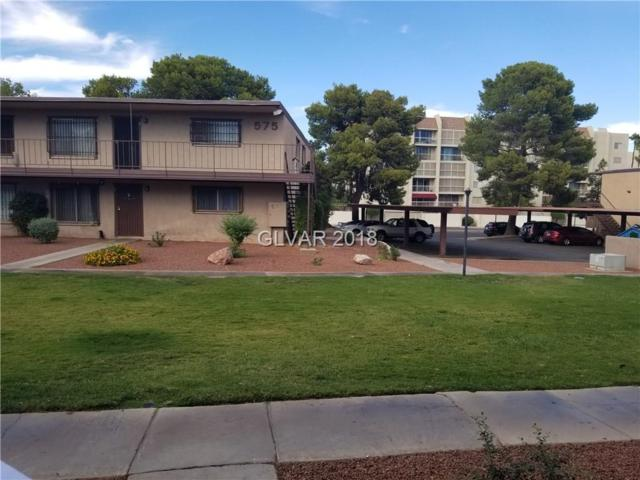 585 Royal Crest #6, Las Vegas, NV 89169 (MLS #2038006) :: The Snyder Group at Keller Williams Realty Las Vegas