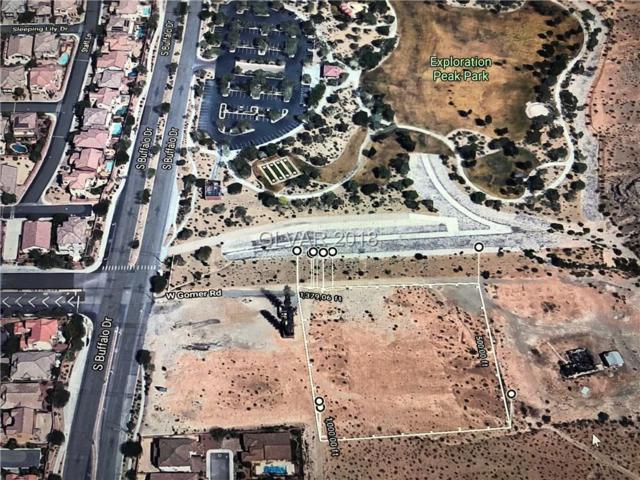 2.5 Ac On Gomer Rd, Las Vegas, NV 89178 (MLS #2038737) :: Vestuto Realty Group