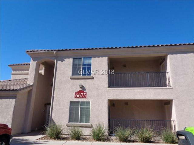 6675 Caporetto #204, North Las Vegas, NV 89084 (MLS #2039078) :: The Snyder Group at Keller Williams Realty Las Vegas