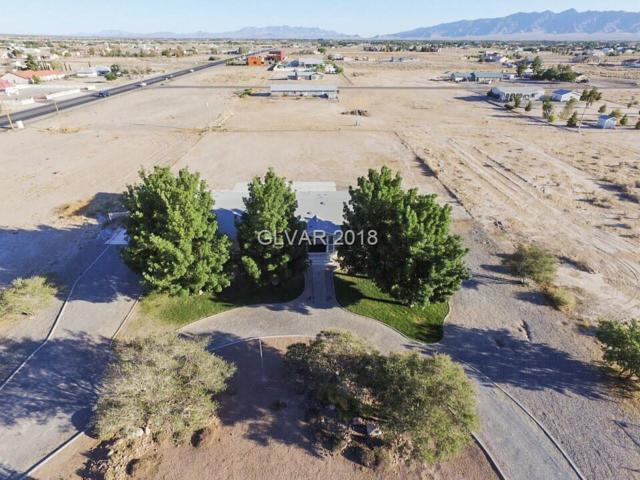 2951 E Hacienda, Pahrump, NV 89048 (MLS #2039818) :: The Snyder Group at Keller Williams Realty Las Vegas