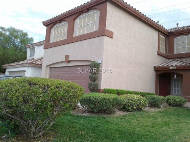 859 Plantain Lily, Las Vegas, NV 89183 (MLS #2040208) :: ERA Brokers Consolidated / Sherman Group