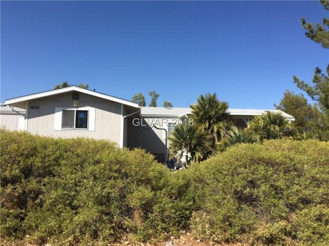 1420 W Wilson, Pahrump, NV 89048 (MLS #2040274) :: The Snyder Group at Keller Williams Realty Las Vegas