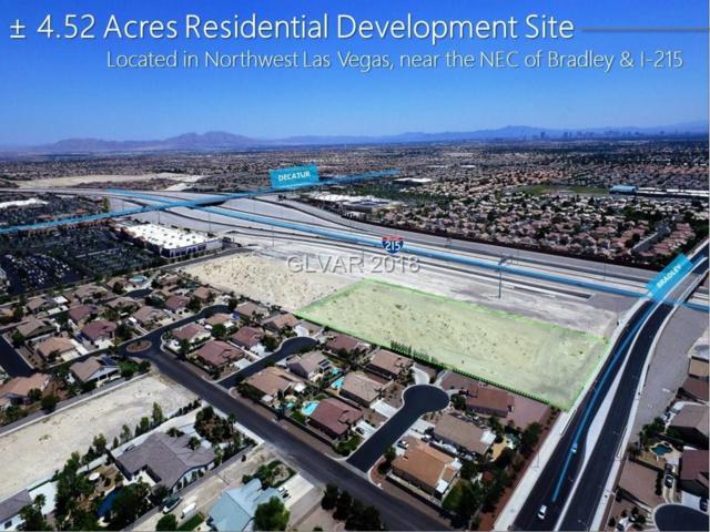 Bradley & 215, Las Vegas, NV 89131 (MLS #2040392) :: The Machat Group | Five Doors Real Estate