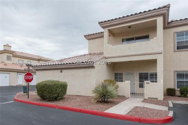 3600 Pintadas #104, Las Vegas, NV 89108 (MLS #2041059) :: Trish Nash Team