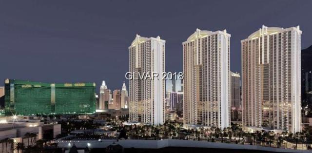 145 Harmon #1505, Las Vegas, NV 89109 (MLS #2041227) :: Trish Nash Team