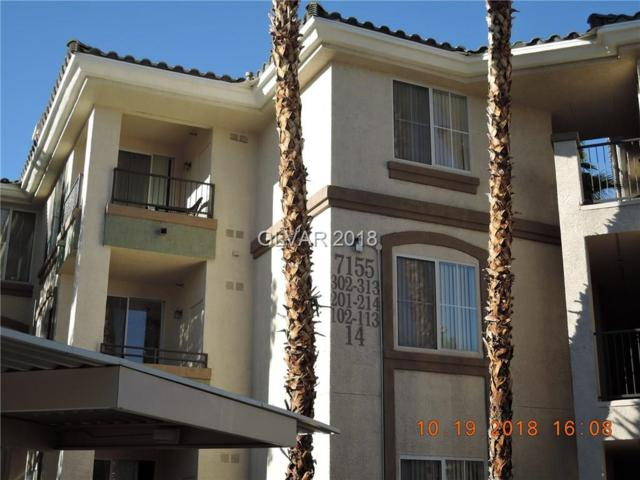 7155 S Durango #206, Las Vegas, NV 89113 (MLS #2042065) :: Trish Nash Team