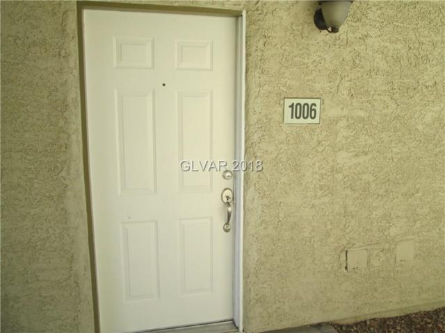 7200 Pirates Cove #1006, Las Vegas, NV 89145 (MLS #2043134) :: Trish Nash Team