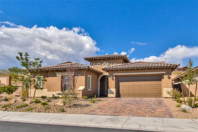 295 Evante, Las Vegas, NV 89138 (MLS #2043991) :: The Machat Group | Five Doors Real Estate