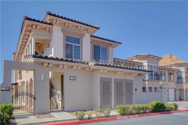 32 Via Vasari #201, Henderson, NV 89011 (MLS #2044069) :: Signature Real Estate Group