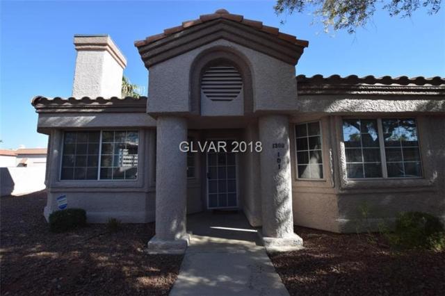 1380 Di Blasi #101, Las Vegas, NV 89119 (MLS #2044315) :: Sennes Squier Realty Group