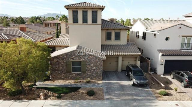 453 Punto Vallata, Henderson, NV 89011 (MLS #2044375) :: The Machat Group | Five Doors Real Estate