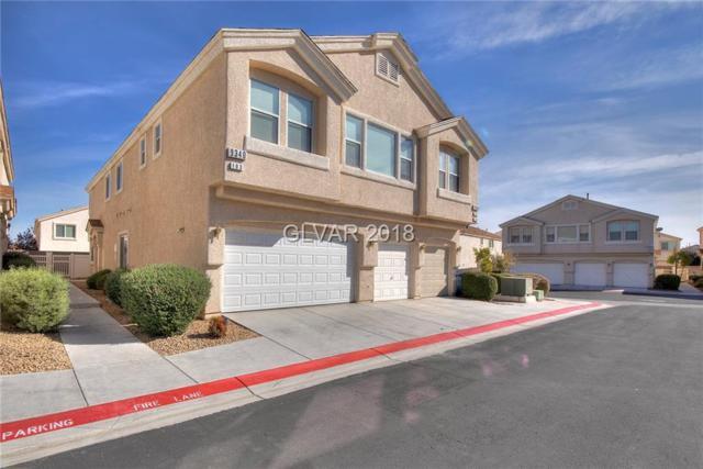 9340 Church Bonnet #103, Las Vegas, NV 89178 (MLS #2044476) :: Sennes Squier Realty Group