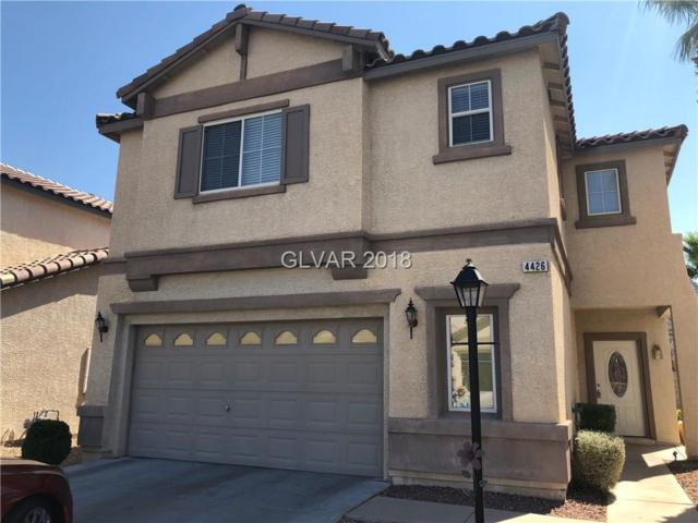 4426 Yellow Harbor St., Las Vegas, NV 89129 (MLS #2044506) :: The Snyder Group at Keller Williams Marketplace One
