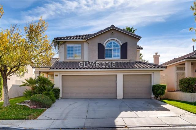 254 Canyon Spirit, Henderson, NV 89012 (MLS #2044581) :: Sennes Squier Realty Group
