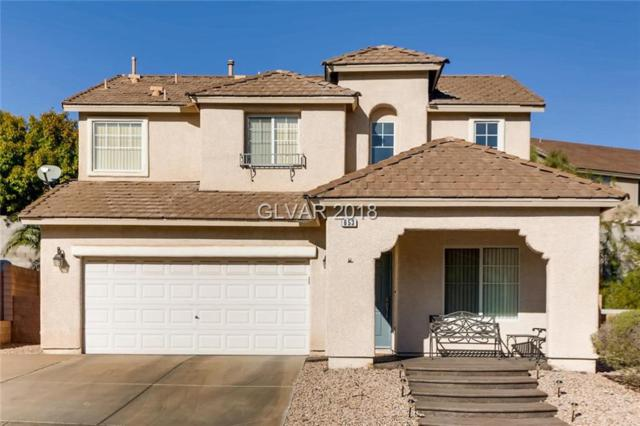 653 Pacific Cascades, Henderson, NV 89012 (MLS #2045727) :: The Snyder Group at Keller Williams Marketplace One
