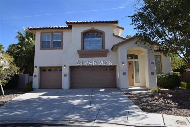 1269 Morning Skyline, Henderson, NV 89052 (MLS #2046051) :: The Machat Group | Five Doors Real Estate
